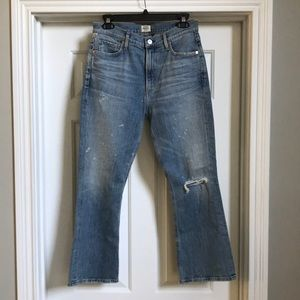 NWT CofH stargazer demy cropped flare jeans